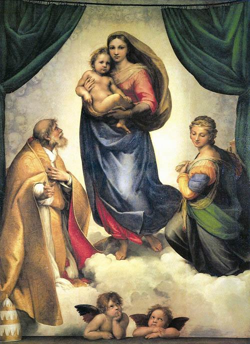 Madonna di San Sisto Rafael_s